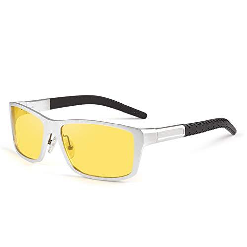 SUNGLASSES Sonnenbrille Man, Anti-High Beam Blendung Strahlenschutz Anti-UV-Augenschutz Shades Wayfarer Polarized Sonnenbrille (Farbe : A)