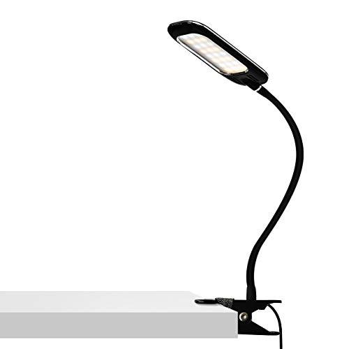 ANWIO Lámpara Flexo LED de pinza - 5W máx