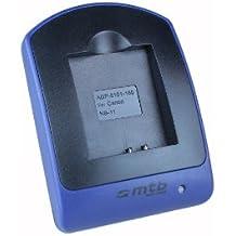 Cargador (Micro-USB, sin cables/adaptadores) para Canon NB-11L / Ixus 125 HS, 240 HS, 265 HS.. Powershot A3500 IS, SX400 IS .. ver lista