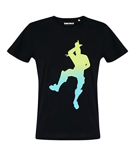 Fortnite maglietta manica corta uomo (m, nero)