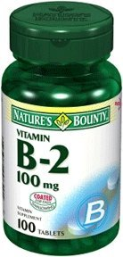 Nature'S Bounty Vitamin B-2 100 Mg Tabs, 100 Ct from US Nutrition