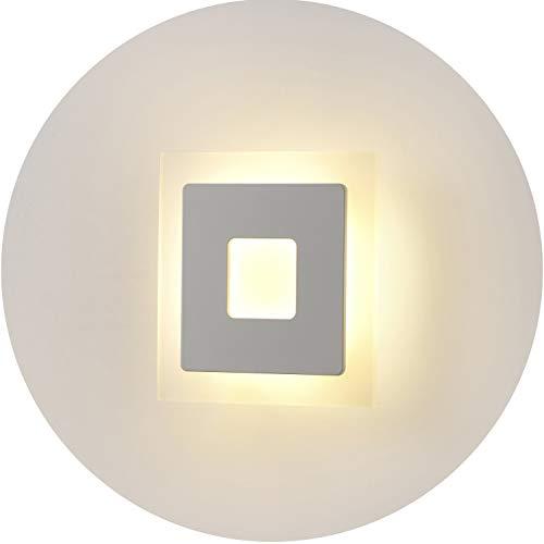 Topmo-plus 18W Lampada da parete a LED applique ideale per Camera da ...