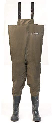 Grauvell Wathose Nebraska Grün Größe 40 - Nebraska Angeln