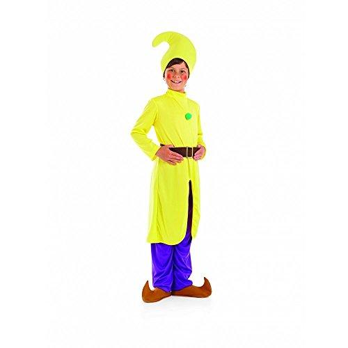 Zwerg - Gelb - Kinder Kostüm