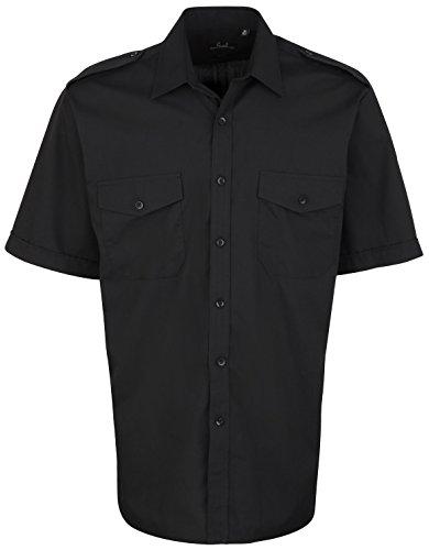 Premier Short Sleeve Pilot Shirt - 3 Colours / 14,5