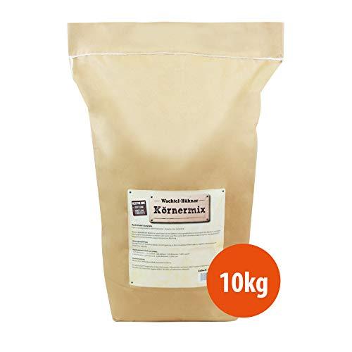 WachtelGold Hühnerfutter - 10kg, Körnermix - ohne Gentechnik - Körnerfutter - Geflügelkörnerfutter