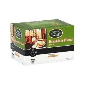 Green Mountain, Coffee Decaf Breakfast Blend, 4.02oz 12 count by Green Mountain Coffee
