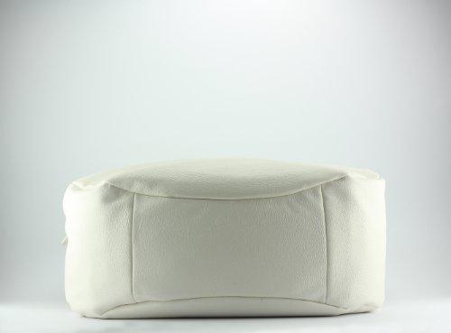 Calvin Klein , Sac pour femme à porter à l'épaule Blanc - Bianco