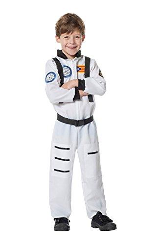 Jannes - Astronautenkostüm Kinder, Weiß ohne Helm ()