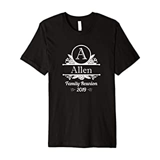 ALFORD Monogram Family Reunion 2019 T-Shirt