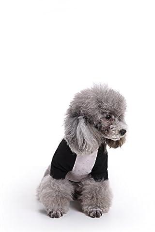 Costumes Avec Long Black Socks - Uni Meilleur Lovely Dog Vêtements en coton