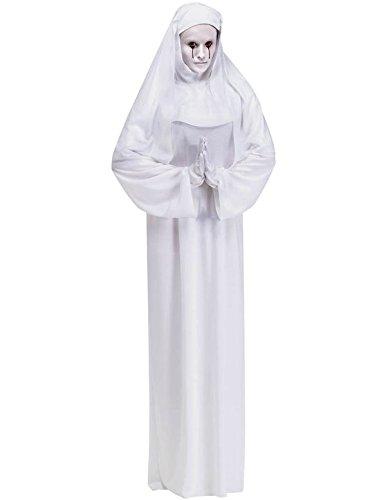 weiße Gespenster Nonne Kostüm - ()