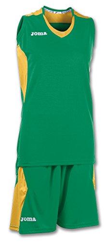 Joma Set Space Woman Basketball Set grün-gold Damen grün-gold, S (36)