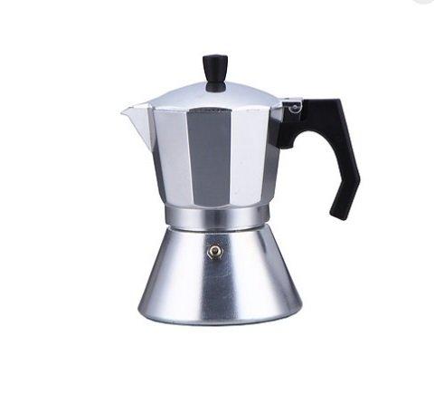 Espressokocher Material alminio + ASS Kompatibel mit Gasherd bis 700Gramm Kaffee Farbe Aluminium