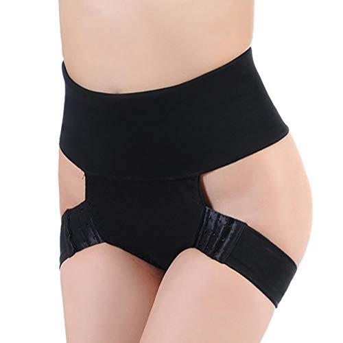 SHANGLY Damen Butt Lifter Unterwäsche Body Shaper Höschen Bauchkontrolle Shapewear Boyshort,L -