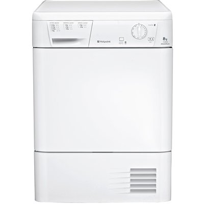 Hotpoint TCM580P Aquarius Condenser Tumble Dryer in Polar White