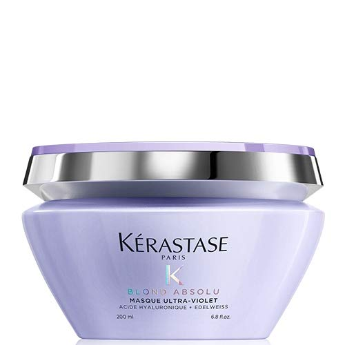 Kérastase Blond Absolu Masque Ultra-Violet 200 ml Perfektionierende Anti-Gelbstich Maske - Kerastase Haar-maske