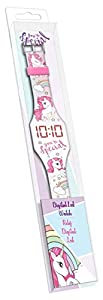 Kids Licensing Reloj Digital led con Pulsera de Silicona de Unicornios (KL10101) 1