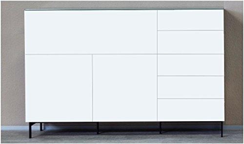 KITOON Sideboard (B 171 H 95 T 48 cm), Gleiter, Eiche geölt (Echtholzfurnier) - 2