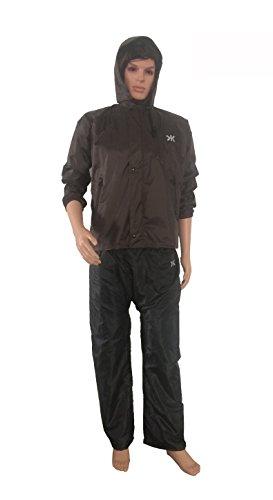 Killer Coffee Prc Rain Suit For Men With Hood And Front Zip (kgt-201)
