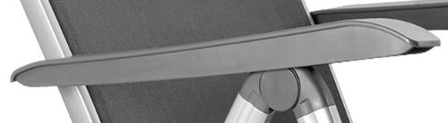 kettler-basic-plus-advantage-relaxliege-aluminium-praktische-klappliege-liegestuhl-verstellbar-leicht-zusammenklappbar-wetterfeste-gartenmoebel-silber-anthrazit-4
