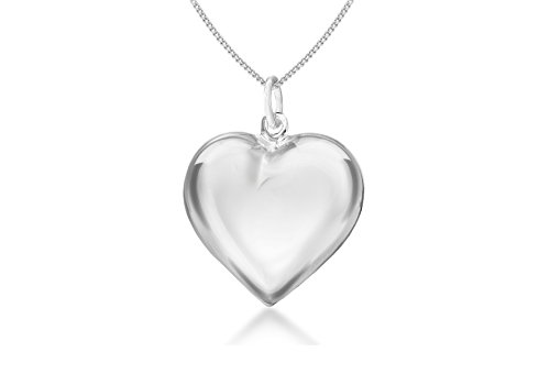 tuscany-silver-sterling-silver-puff-heart-pendant-on-curb-chain-of-46cm-18