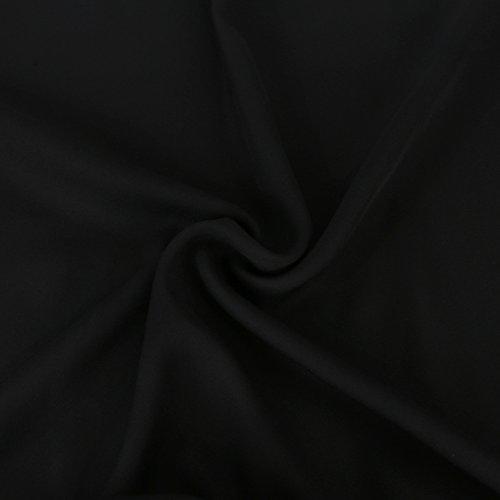 Mousseline Chemisier avec dos nu Noir