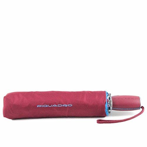 Ombrello Pieghevole Automatico Apri e Chiudi Piquadro Antivento Sabbia Rosso