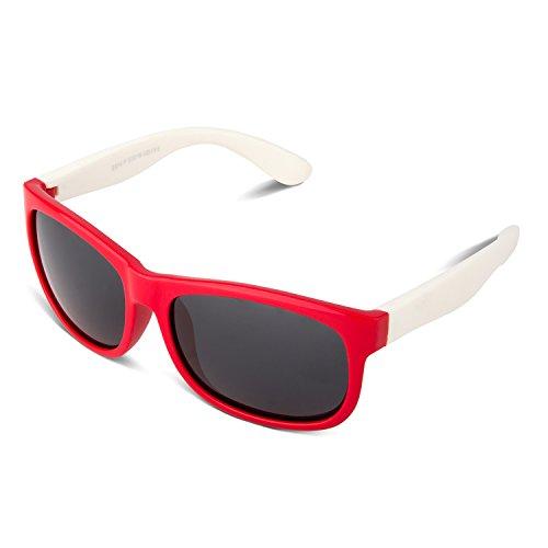 RIVBOS rbk023de goma flexible para gafas polarizadas gafas de sol para bebés...