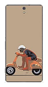 Upper Case Fashion Mobile Skin Sticker For Sony Xperia C5 Ultra