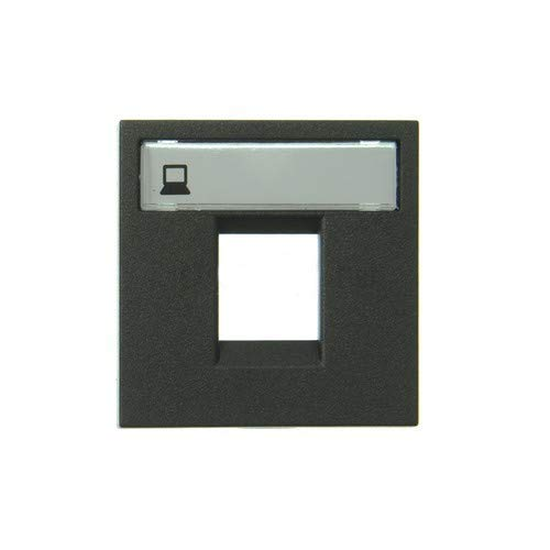 Niessen - n2218.1an tapa ventana 1 conector zenit antracita Ref. 6522010162