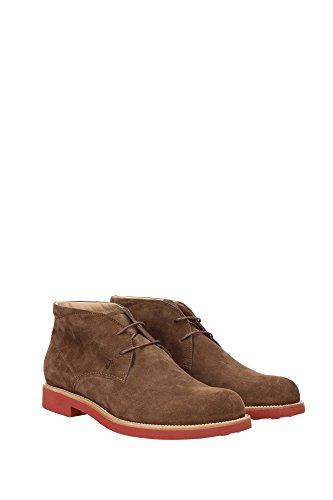 XXM0WP00D80RE09999 Tod's Chaussure montante Homme Chamois Marron clair Marron Clair