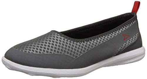 Power Women's Benny Grey Ballet Flats-8 UK/India (41 EU)(5592097)