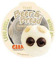 Preisvergleich Produktbild GIANT Microbes (Riesenmikroben) Plüsch Schlüsselanhänger: Beer & Bread - Yeast / Bierhefe (Saccharomyces cerevisiae)