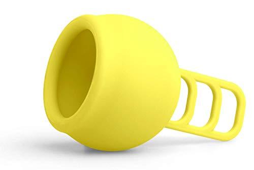 Merula Cup sun (gelb) - One size Menstruationstasse aus medizinischem Silikon - 2