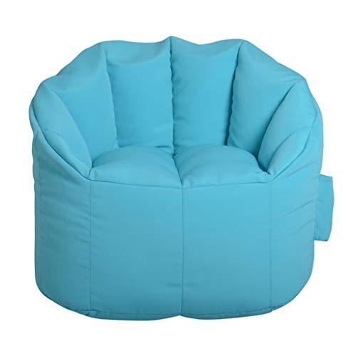 TLTLLRSF Erwachsener Sitzsack, Bequeme Faule Couch, Moderner Minimalistischer Stoff Stuhl Sitzsack (Color : B, Size : UNA Talla) - Runde Matratze Legen