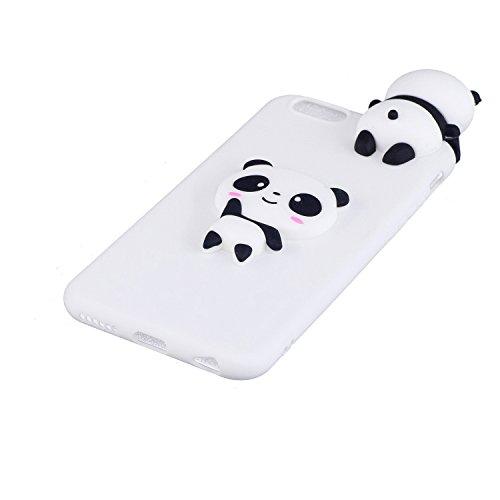 TPU Hülle für iPhone 6S Plus,Silikon Hülle für iPhone 6 Plus,Funyye Komisch 3D Erdbeere Entwurf Ultra Dünnen Scratch Resistant Bumper Soft Rückseite Abdeckung Cover Tasche für iPhone 6 Plus/6S Plus 5. Muster #9