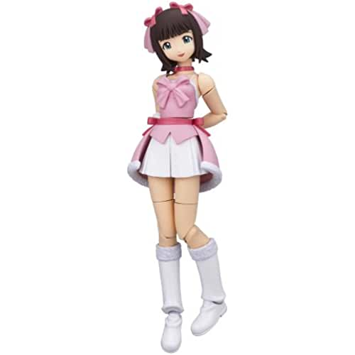 kawaii make my day idol master Revoltech Fraulein Idol Master Haruka Amami PVC Figure - Snow Strawberry Version (japan import)