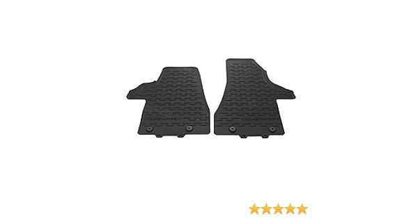 Volkswagen 7h1061502c82v Allwettermatten 2x Gummimatten Vorn Schwarz Gummi Fußmatten Nur Facelift T6 1 Auto