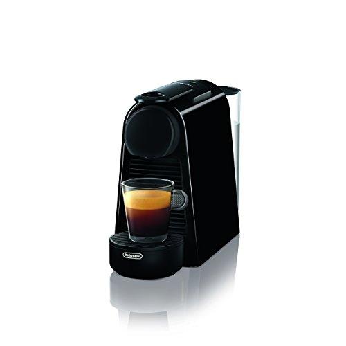 De'Longhi EN85.B Macchine per Il caffè a Sistema Nespresso Essenza Mini, 1370 W, 0.6 Litri, Plastica, Nero