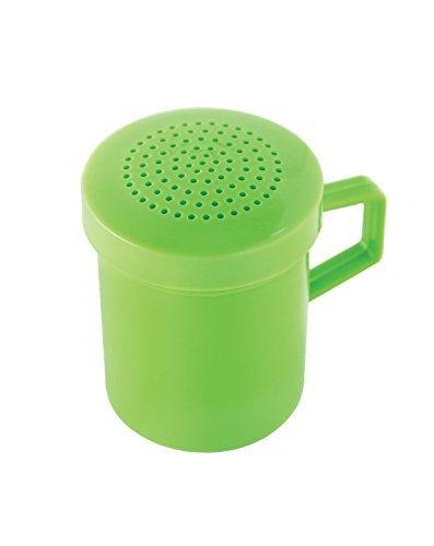 Fox Run-Kunststoff Shaker, hellgrün Green Sugar Shaker
