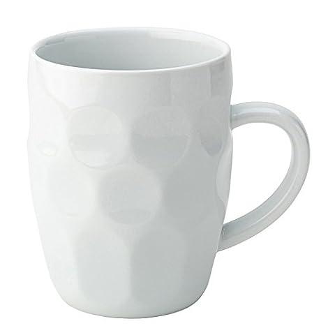 Utopia K20205 Titan Ceramic Dimple Tankard, 20 oz., 57 cL (Pack of 6)