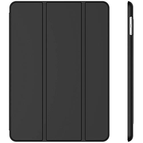 JETech Funda para iPad (9,7 Pulgadas, 2018/2017 Modelo, 6ª / 5ª generación), Carcasa con Auto-Sueño/Estela, Negro