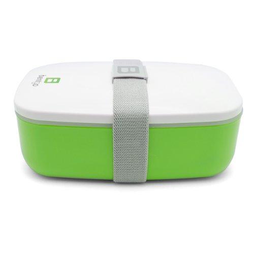 Bentgo - Bento Box inkl. Besteck (Grün)   Lunchbox   Brotdose   Kindergarten   Schule   Büro   Arbeit   Reisen -