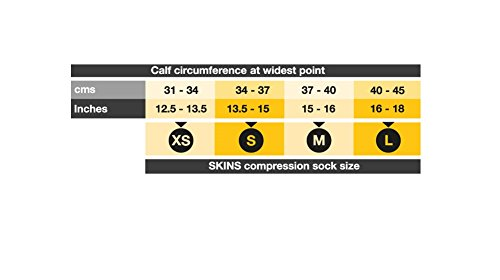 Skins Women\'s Active Kompression Socken - SS18 - Medium