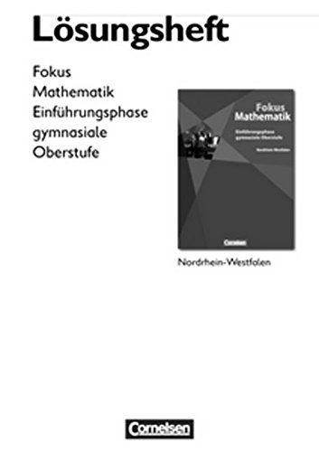 Fokus Mathematik, Gymnasiale Oberstufe, Nordrhein-Westfalen