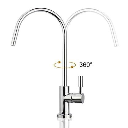 31zxg5 NvKL. SS416  - smardy UNO701 Caño Giratorio 360° Grifo para osmosis inversa Agua Purificada (RO)
