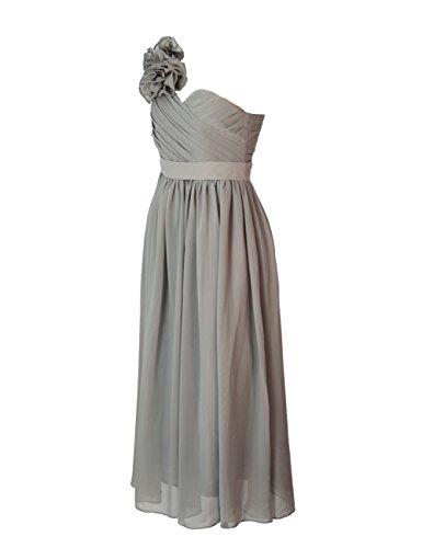 Dressystar Damen mit einem eleganten Blume Form Schulterträger festlich  Abendkleid Ballkleider Blush