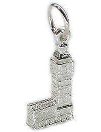 Guard Eros sterling silver charm .925 x 1 London England charms EC797 Crown
