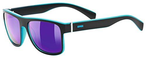 Uvex Sportsonnenbrille lgl 21 Black Mat Blue One Size
